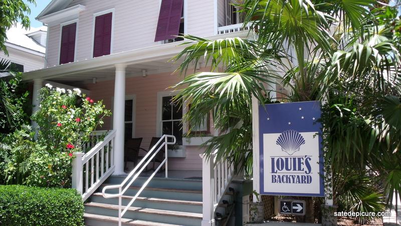 Louies Back Yard  Key West FL  satedepicurecom