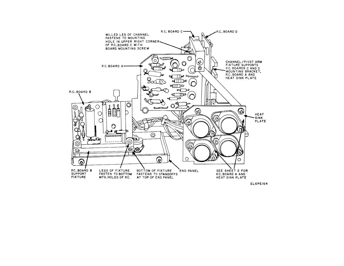 Figure 8-10. Alarm Monitor Power Supply, Disassembled View
