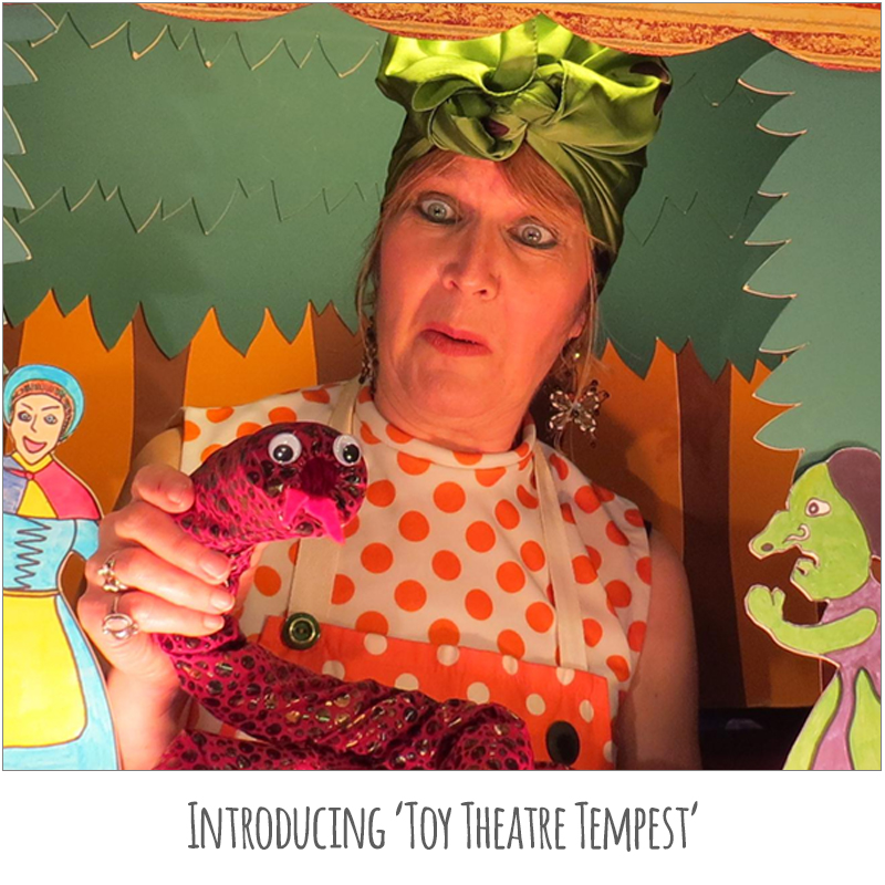 Introducing 'Toy Theatre Tempest'