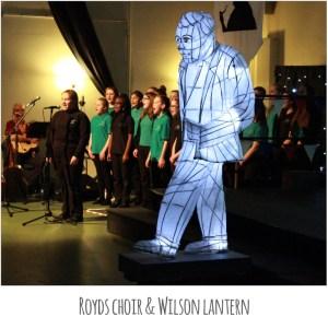Wilson 100 - Royds Choir & Wilson Lantern