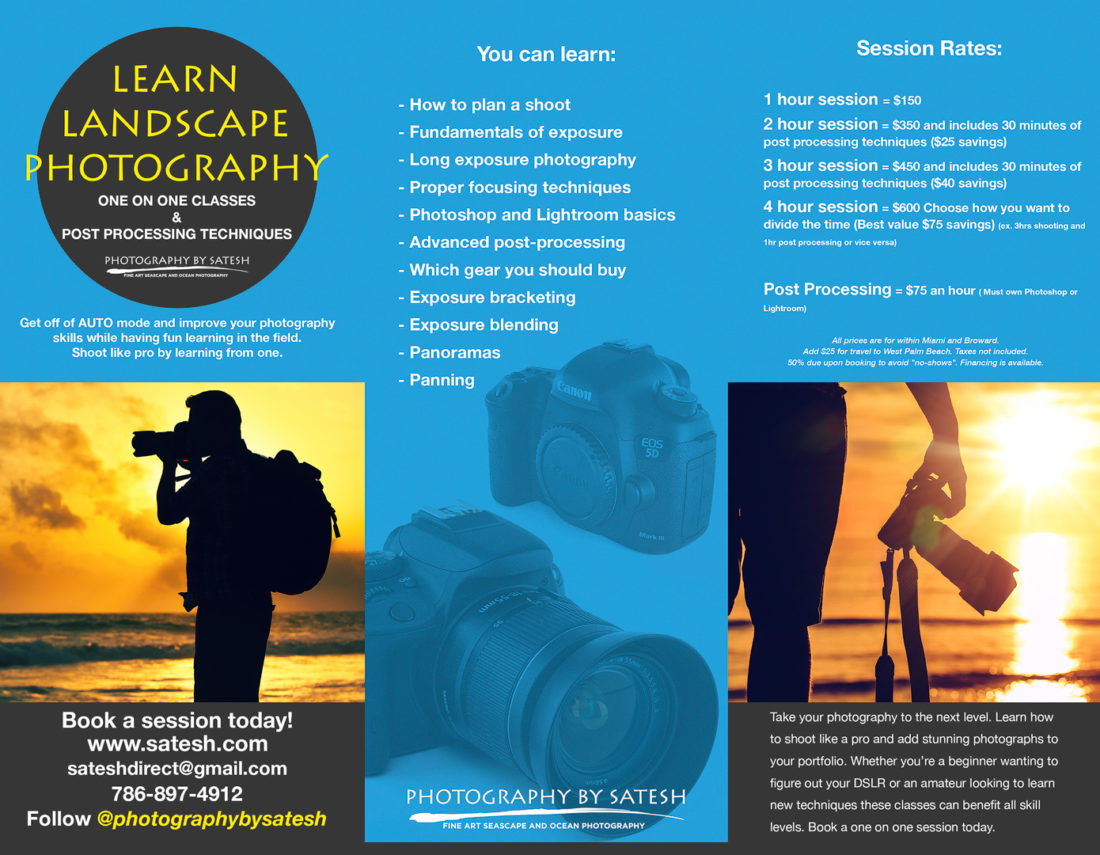 Florida Landscape Photography Classes In Miami, Broward