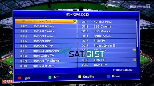 Origin, Channels, Frequency & How To Track Hornsat Sport