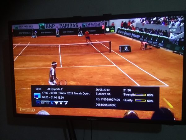 Where To Watch 2019 French Open Tennis Games Via Icone CCCAM SERVER
