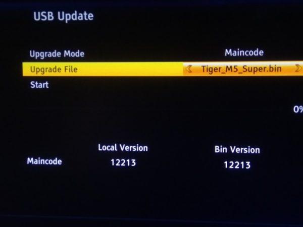 How To Upgrade Tigerstar M5 Super Decoder