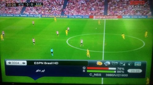 ESPN HD Brasil On SES 6 At 40w, Free Sport TV Channels
