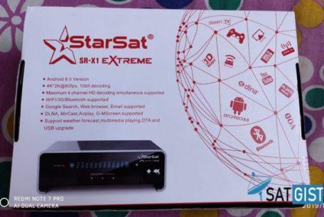 Starsat SR-X1 Extreme 4K Ultra Android & Satellite Receiver