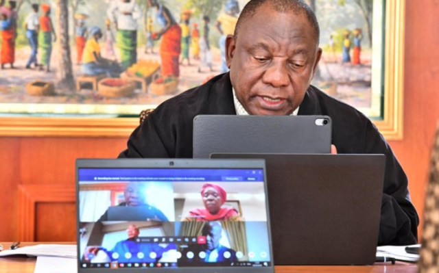 President Ramaphosa gave South Africans a dressing-down because many failed to adhere to lockdown regulations.