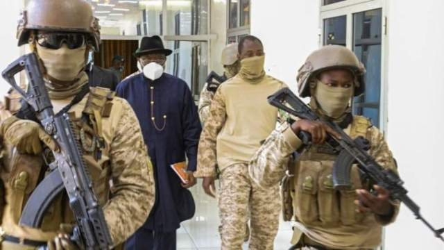 The junta that seized power in Mali wants a military-led transitional body to rule for three years and has agreed to release the ousted president, a source in a visiting West African delegation and the rebel soldiers said Sunday.