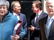 """David Cameron has become the fifth former prime minister to criticise a new bill attempting to override the Brexit withdrawal agreement. No 10 says the Internal Market Bill was a """"critical piece of legislation for the UK"""". But Mr Cameron said he had """"misgivings"""" over it and breaking an international treaty should be the """"final resort""""."""