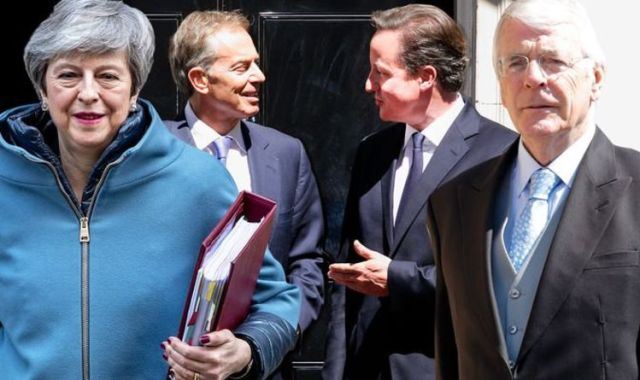 David Cameron has become the fifth former prime minister to criticise a new bill attempting to override the Brexit withdrawal agreement. No 10 says the Internal Market Bill was a