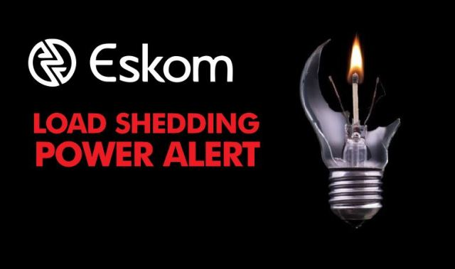 load shedding today