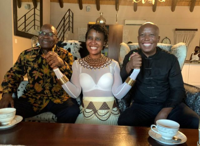 What happens in Nkandla, stays in Nkandla, as no tea is spilled – just yet