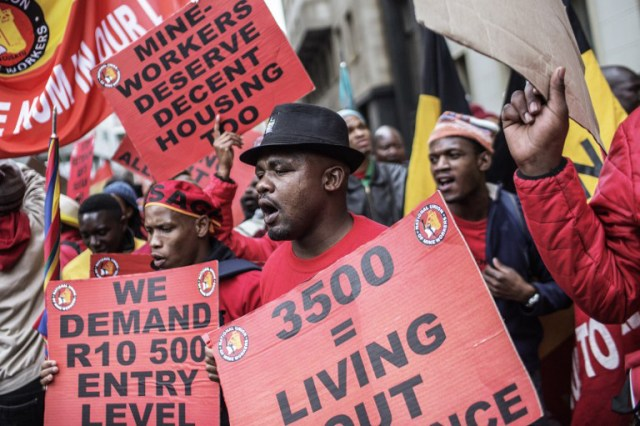 NUM demands 15% pay hike from Eskom and a doubling of housing allowance