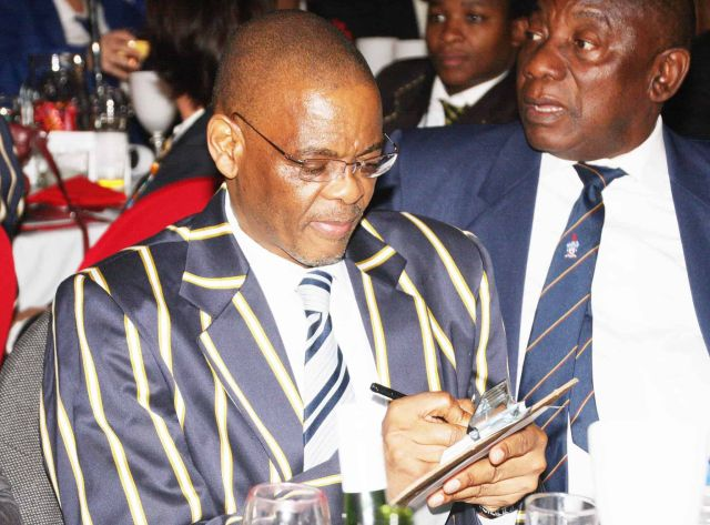 By hook or by crook   By trying to suspend Ramaphosa, Magashule has played his panic card