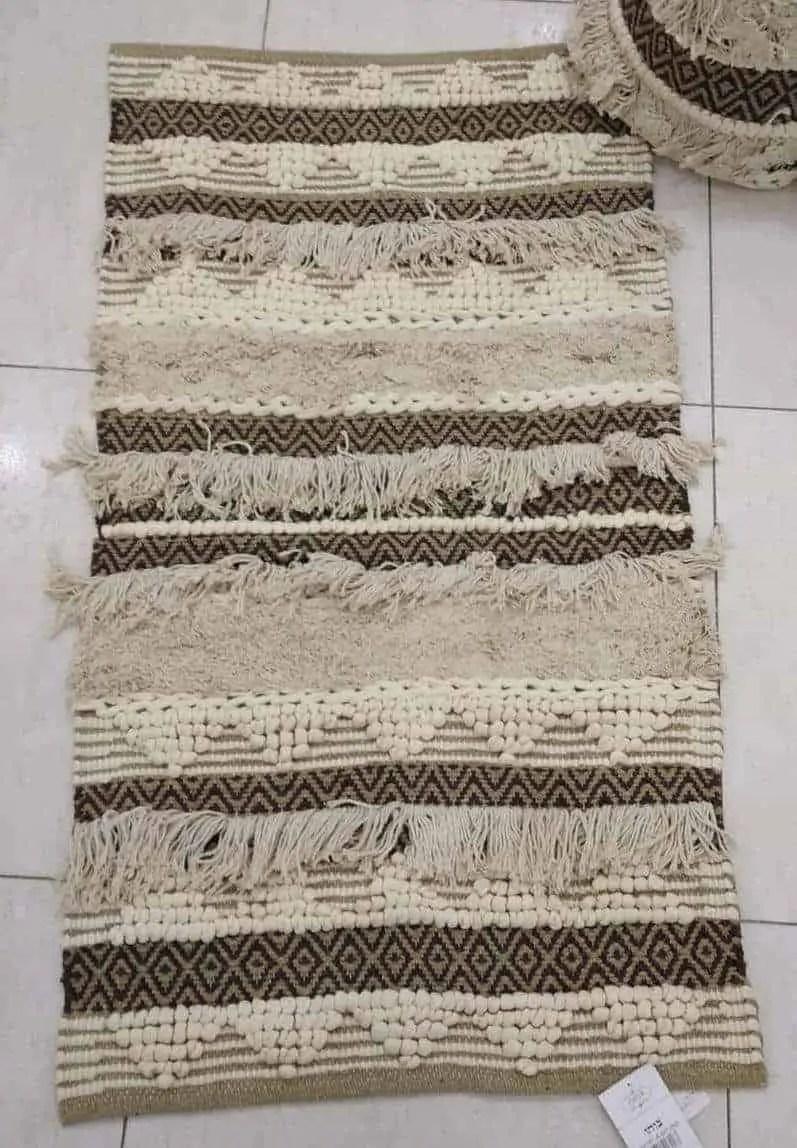 שטיח בוהו 04 כותנה