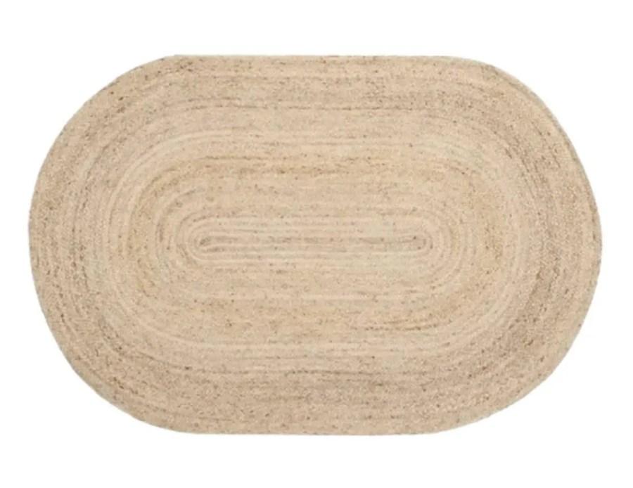טהיטי שטיח חבל אובלי