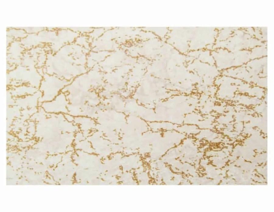 דקסון שטיח שיש שמנת זהב מלבן