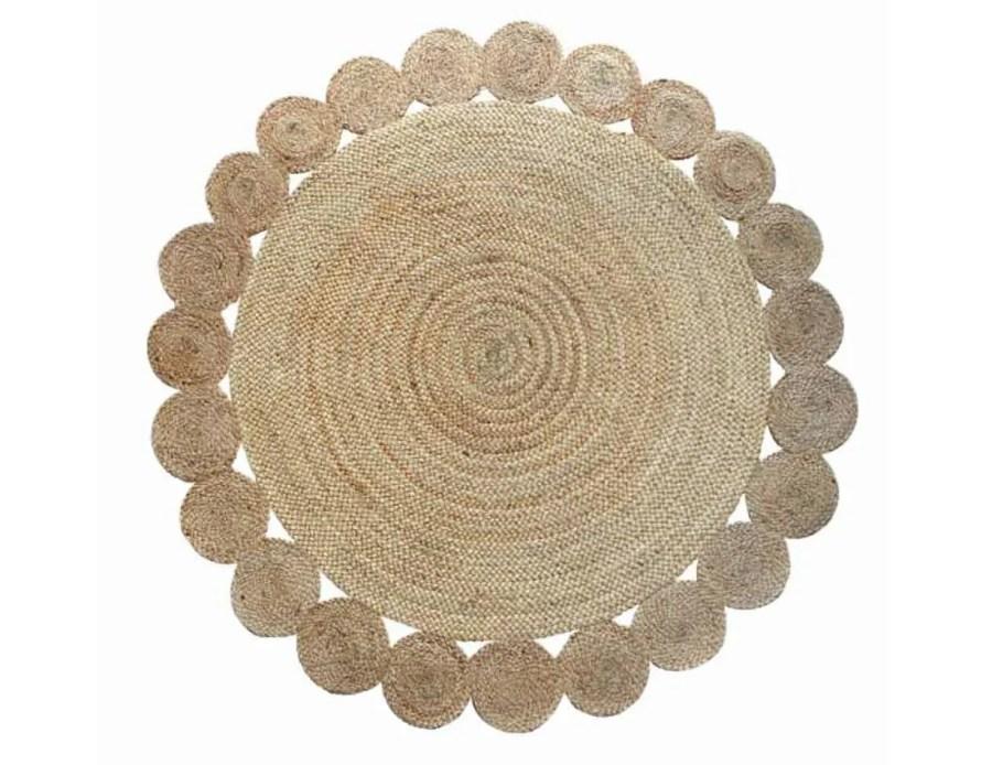 ריו שטיח חבל טבעי עגול 05