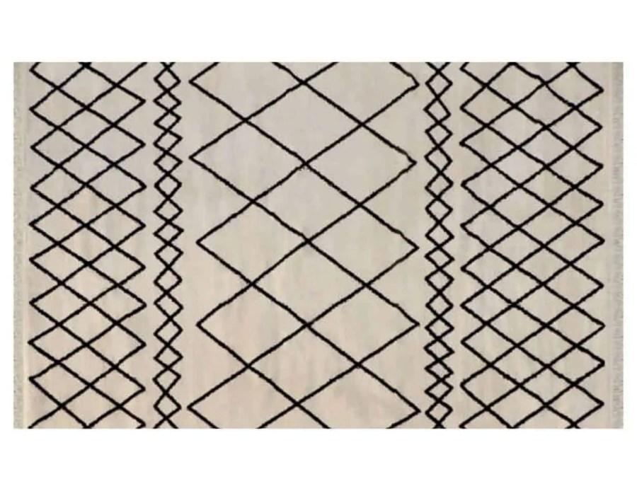 מרקש שטיח שמנת