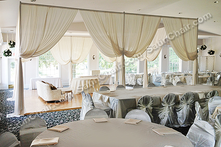 chair cover for rent wedding upholstered dining chairs nz ceremony stage decor, backdrops, lighting, mandap – chicago schaumburg bloomingdale ...