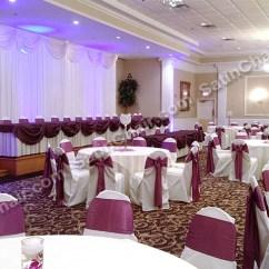 Satin Chair Covers Rental Naperville Il Tilt Back The Abbington Banquets Glen Ellyn – Rent Backdrop Lighting Decor ...