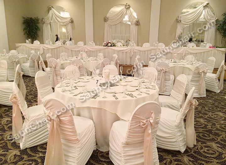 rent chair covers for wedding wood table black chairs the abbington banquets glen ellyn il backdrop distinctive