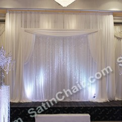 Satin Chair Covers Rental Naperville Il Phil Teds Poppy High Nz Rent A Winter Wonderland Icicle Fairytale Lights Backdrop | Wedding & Event Decor Ideas Chicago