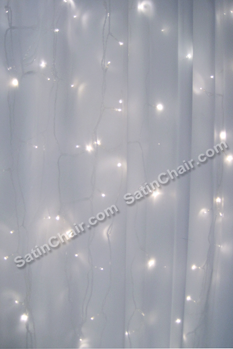 rent chair covers in chicago leopard cushions a winter wonderland icicle fairytale lights backdrop | wedding & event decor ideas