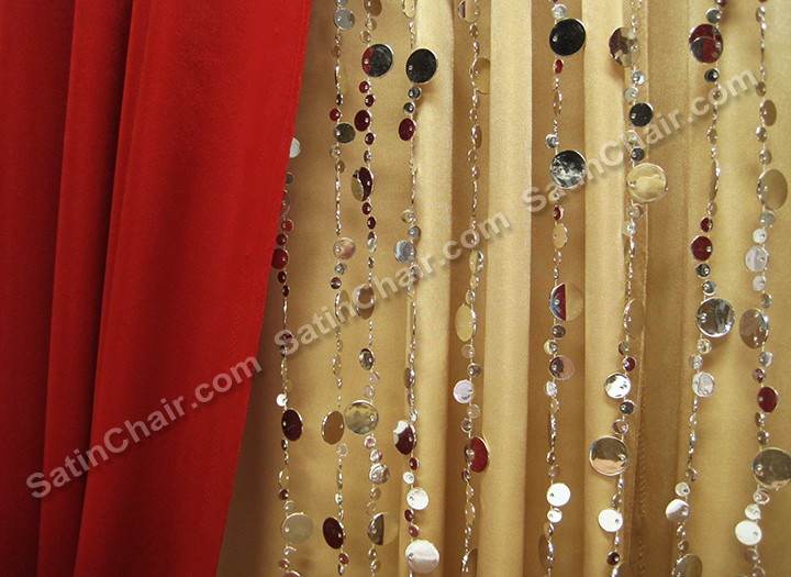 Rent a Winter Wonderland Icicle Fairytale Lights Backdrop  Wedding  Event Decor Ideas Chicago