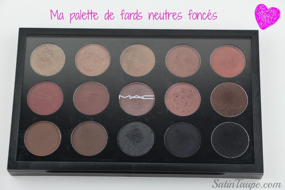 Palette Mac Neutre foncé 2
