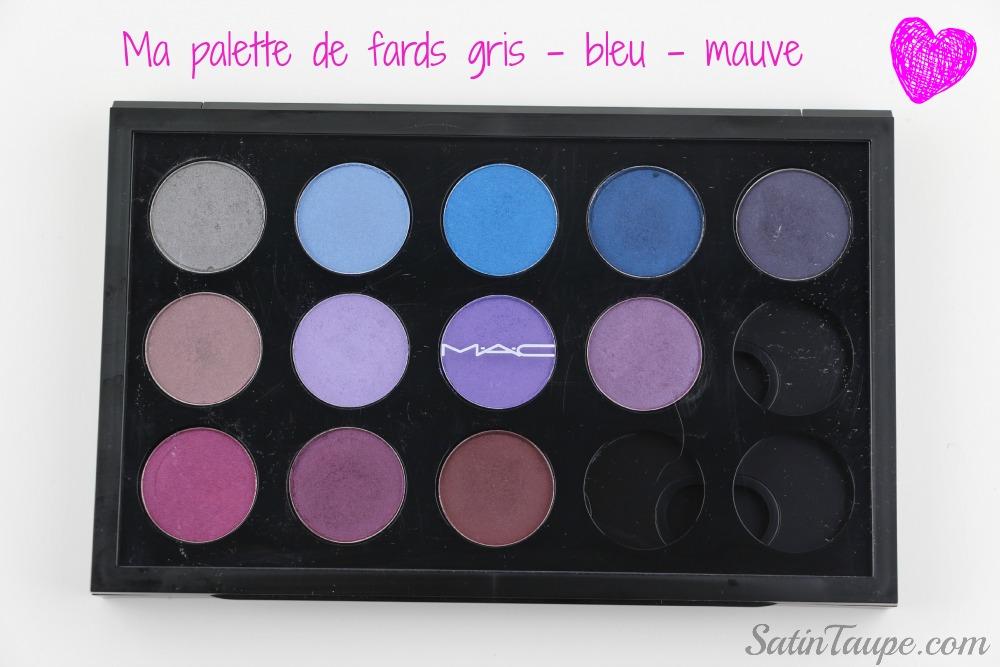 Palette Mac bleu 1
