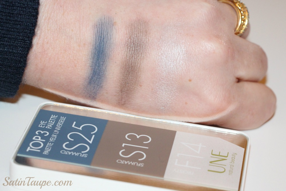 UNE natural beauty swatch