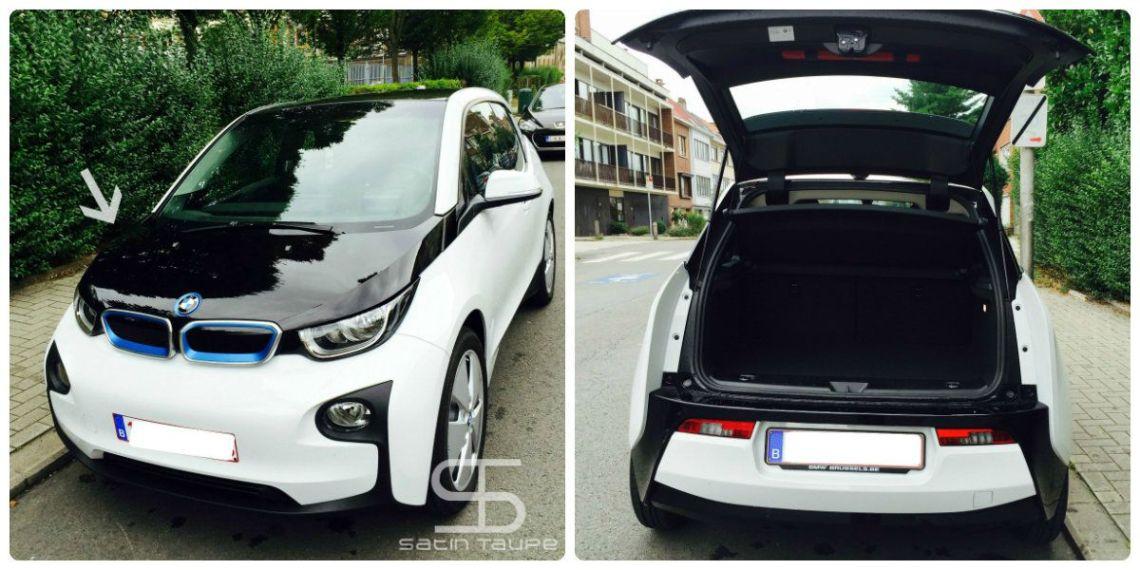 BMW i3 coffre