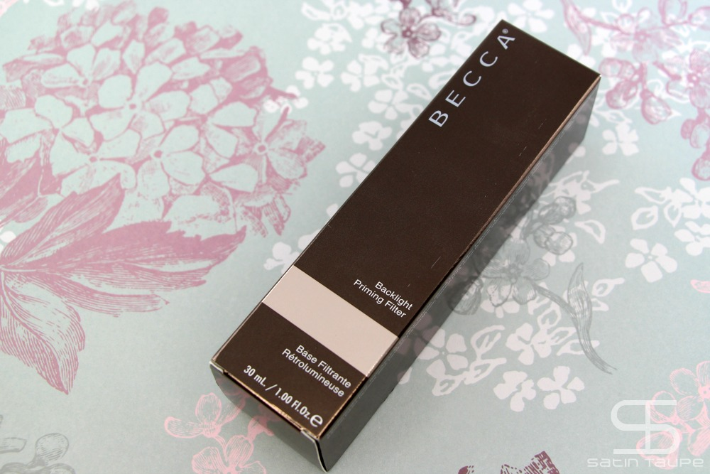 Becca backlight priming filter revue