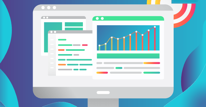 Analytics dashboard used to understand SEO or Search Engine Optimization