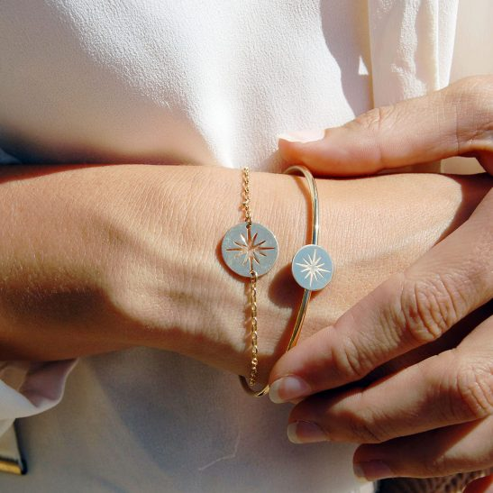 Bracelet Véga vermeil
