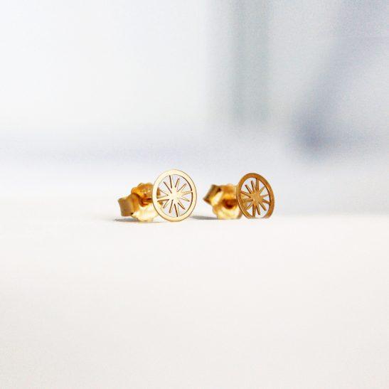 Boucles d'oreilles Polaris vermeil