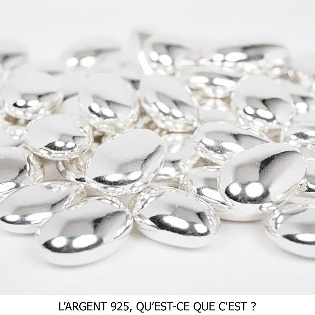 Vous saurez tout sur l'argent 925, métal précieux de qualité utilisé dans toutes mes créations.