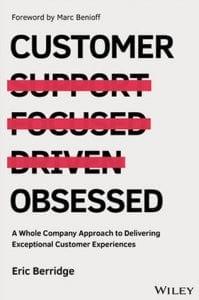 "Livro ""Customer Obsessed"", de Eric Berridge"