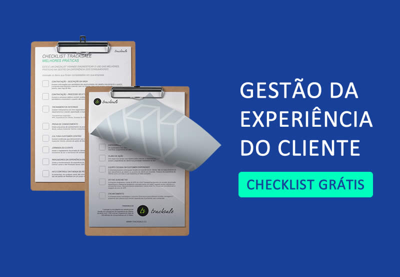 checklist - jornada do cliente - satisfação de clientes - tracksale