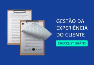 checklist de gestão da experiência do cliente