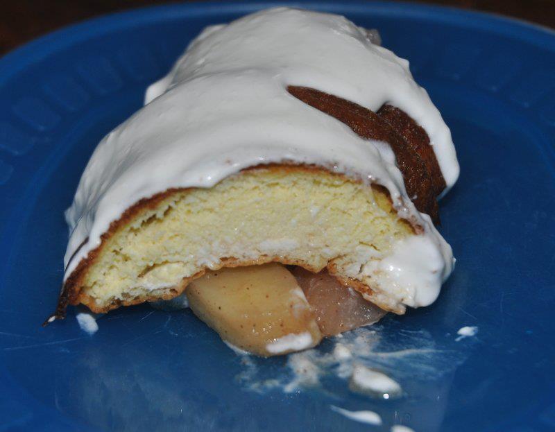 katja king cake slice