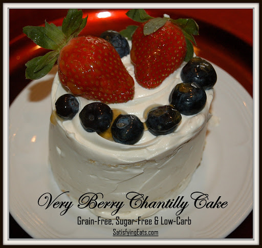 Very Berry Chantilly Cake (Adult Birthday Cake)