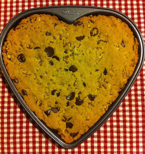 Grain-Free Cookie Cake (and why I don't use artificial sweeteners)