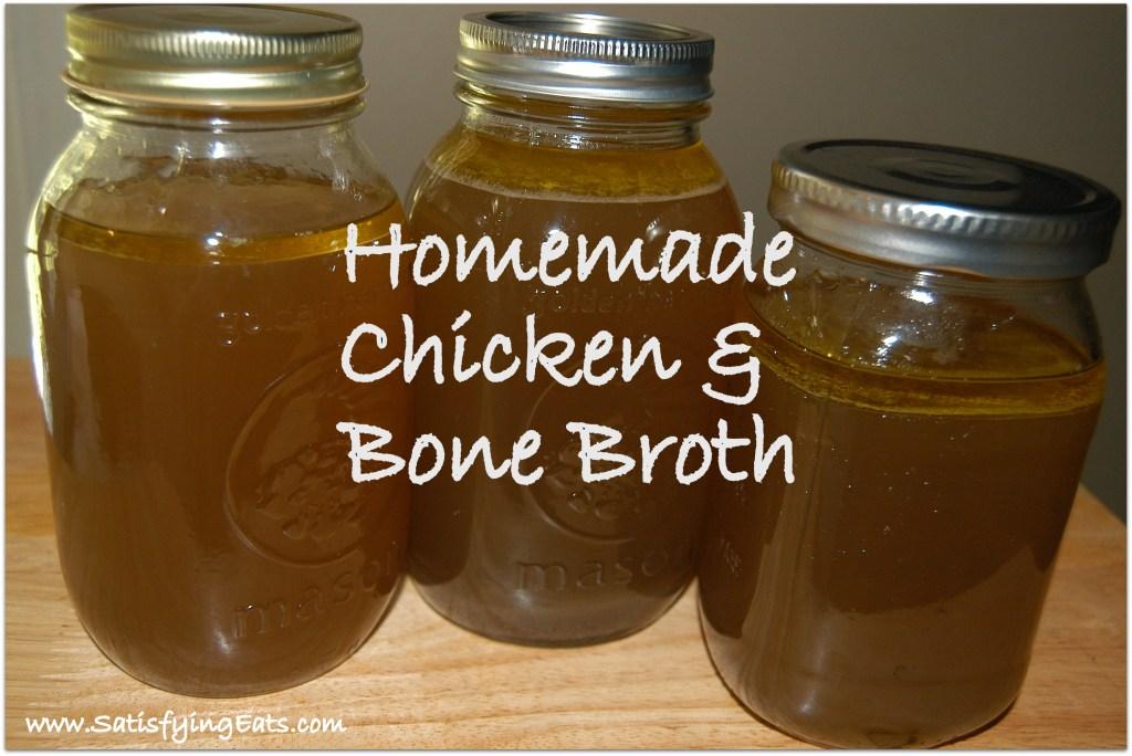 Homemade Chicken & Bone Broth