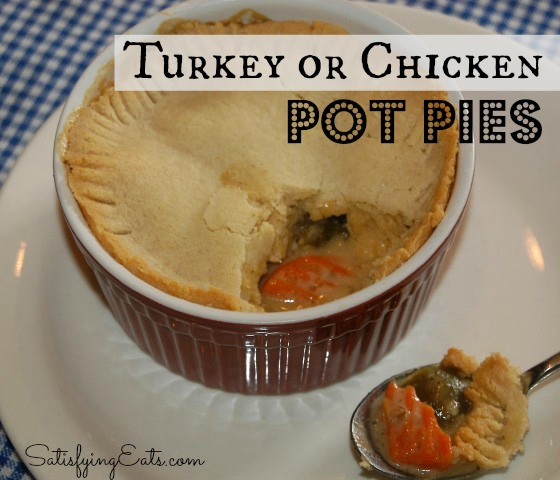 chicken pot pie (Small) turkey