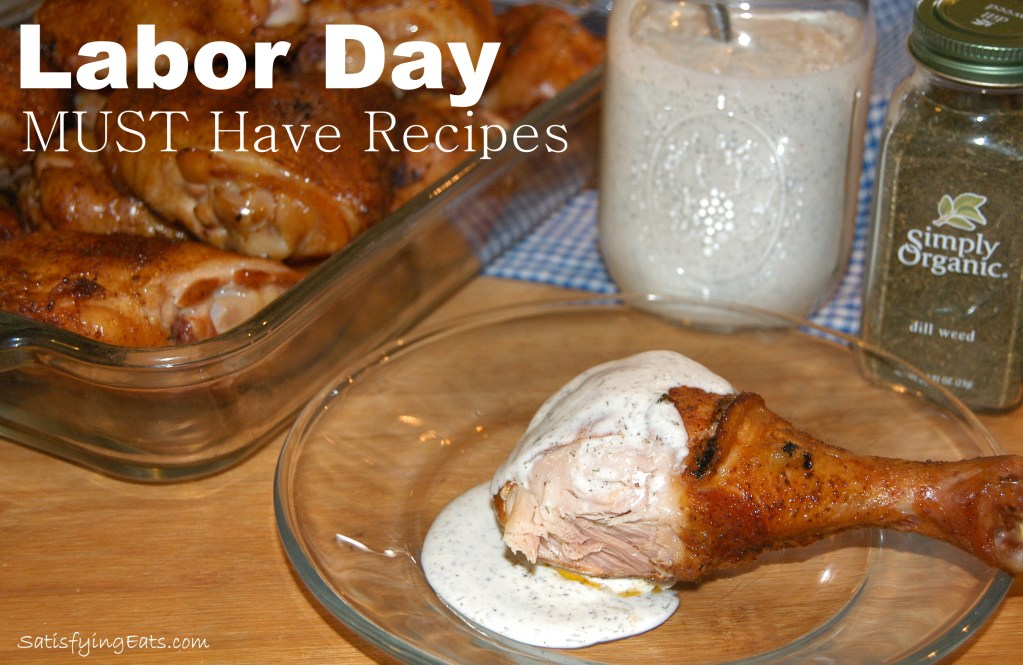 Labor Day Cookout MUST Have Recipes
