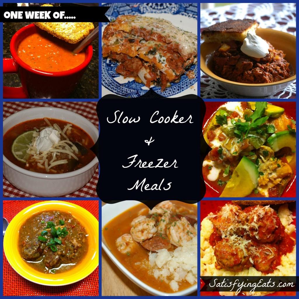 40 Slow Cooker & Freezer Meals