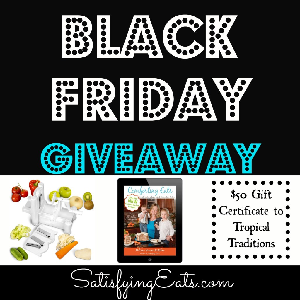 Black Friday Giveaway & Deals