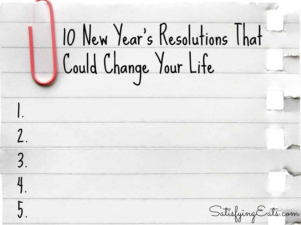 10 New Year's Resolutions That Could Change Your Life